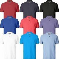 Men's Polo T Shirt Blue Harbour 100% Cotton Polo T Shirt Short Sleeve RRP £19.99