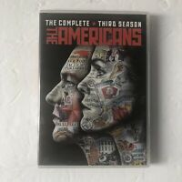 The Americans: Season 3 (DVD, 2016, 4-Disc Set) Like New EUC