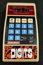 "VINTAGE COLECO ""DIGITS""  1979 Computer Game"