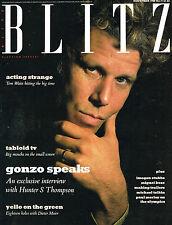 BLITZ #71 11/1988 TOM WAITS Imogen Stubbs DIETER MEIER Hunter S Thompson @EXCLT@