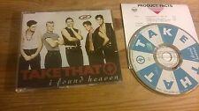 CD Pop Take That - I Found Love (4 Song) RCA REC sc + Presskit