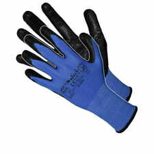 1,12 PAIRS OF LATEX COATED WORK GLOVES CONSTRUCTION GARDENING BUILDERS Cat:2