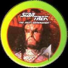 STAR TREK THE NEXT GENERATION, KLINGON HIGH COUNCIL STARTDISC POG MILK CAP, # 28