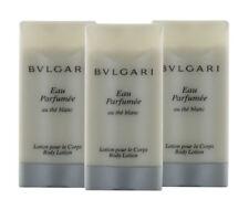 Eau Parfumee au The Blanc by Bvlgari for Women Combo: Body Lotion 3oz (3x 1oz)