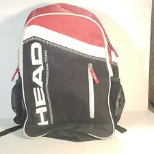 Head Tennis Back Pack Bottle Holders Multi Pocket Red Black White 122019D
