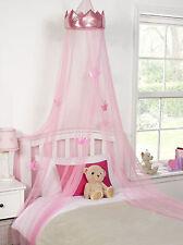 La Principessa Letto Letto a baldacchino bambina rosa Ideale Tessile ragazze camera da letto 30cmx230cm