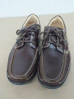 J&M Flex Johnston & Murphy Leather Loafers Shoes SHEEPSKIN Blue Mens Sz 9M NICE