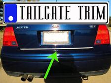 VW JETTA 1999 2000 2001 2002 2003 2004 Chrome Tailgate Trunk Trim Molding