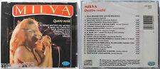 MILVA QUATTRO VESTITI CD 1992 SIGILLATO  SEALED