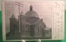 1907 POSTCARD OF THE ST. FRANCIS CHURCH CHICAGO OHIO