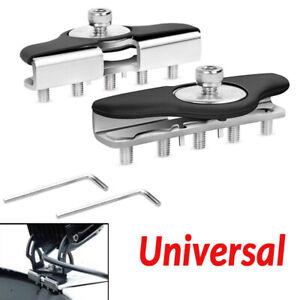2PCS Universal Hood Mounting Brackets LED Work light Bars Clamp Holder Durable