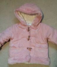 Nursery Time magnifique Quantité Bébé Filles Rose Manteau, 6-12 mois. NEUF