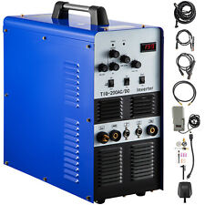 Tigstickmma Square Wave Inverter Acdc Aluminum 200a Tig200 Welder 110220v