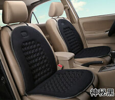 2 Pcs Car Seat Cover Black Pad Magnetic Beads Bubble Foam Chair Padded Massage