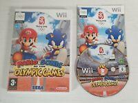 Mario & Sonic At The Olympic Games -- Sega Pal 3+ -- Nintendo Wii -- UK Seller -
