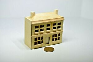 Miniature Doll's Dollhouse Unfinished in 1:12 doll scale T8457