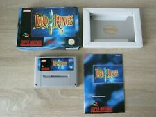 Lord of the Rings - complete (PAL EU-version English) - SNES / Super Nintendo