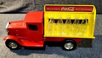 Vintage 1930 Reproduction Coca-Cola Delivery Truck Metalcraft Gearbox 2001