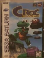 Croc Legend Of The Gobbos Sega Saturn Complete With Clean Registration Card