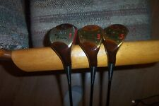 BRAND NEW Palmer The Axiom persimmon woods 1-3-5 vintage