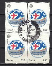 P2333 - ITALIA 1992 -  EUROPA - EMBLEMA DI COLOMBO 92