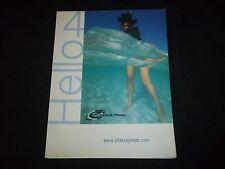 2001 Estock Photo Catalog - Hello 4 - Stock Photography - F 1102
