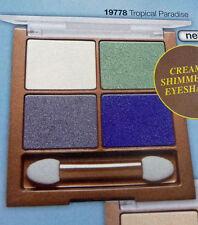 New Avon Arabian Glow Creme Delight Eyeshadow Quad-Tropical Paradise Free P&P