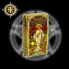 ESOTERIQUE DIVINATOIRE grande CARTES TAROT GOLDEN ART NOUVEAU doré  NEUF BLISTER