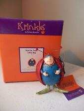 "Department 56 Halloween NEW Krinkles Trick or Treat Little Bug 3"" Tall"