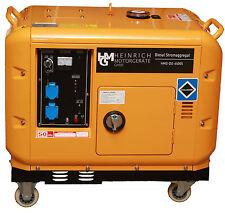 Diesel Stromerzeuger Notstromaggregat Stromaggregat 230V HMG-DG-6500S Generator