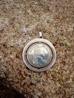 zauberhafter alter Silber Anhänger Maria Theresia Taler 835er Sammlerstück