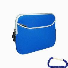 Neoprene Sleeve Case Cover Pouch for Google Nexus 7 II 2nd Generation - Blue