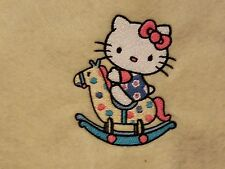 Personalized Embroidery Blanket Hello Kitty 36x58 inches
