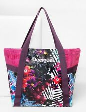 DESIGUAL Bolsa Shopper Aloha - Sport - Bag - Tasche - Sac / New,