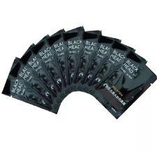 Black Mud Face black charcoal masks 10 packs