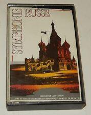 Cassette Audio : Symphonie RUSSE dirigé par Luis COBOS Orchestre RTV MOSCOU