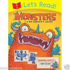 Early Reader Story Book -  Let's Read LETS READ! MONSTERS AN OWNER'S GUIDE - NEW