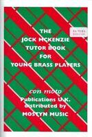 Jock Mckenzie Tutor book for Young Brass Players Eb TUBA New book