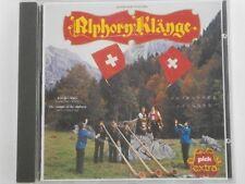Alphorn Klange - Schweitzer folklore - RARE CD