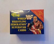 1991 CLASSIC WRESTLING SET - WWF WWE UNDERTAKER ROOKIE  SEALED  HOGAN  150 CARDS