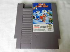 Original Snow Brothers für NES - Pal B !