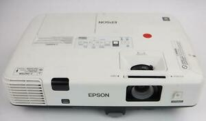 Epson H471A PowerLite 1945 WMXGA 3LCD Projector 1168 Lamp Hours Tested Working