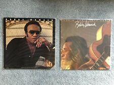 "LP Lot of 2 Bobby Womack - 12"" Vinyl Records - R&B/Gospel/Soul/Rock & Funk Music"