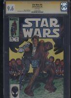 Star Wars #91 CGC 9.6 SS Tom Palmer 1985 MARVEL COMICS