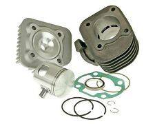 Malossi Yamaha Zuma 2002-2011 Genuine Buddy big bore cylinder kit 2 stroke 70cc