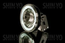SHIN YOFernscheinwerfer rund, mit LED-Standlichtring, klar, 12V H3 55W, E-geprüf