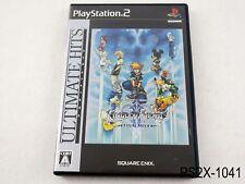 Kingdom Hearts Final Mix 2 Ult Hits Playstation 2 Japanese Import PS2 US Seller
