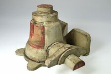 Antique Painted Industrial Foundry Wooden Mold.