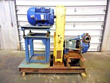 "RX-3620, METSO HM150 FHC-D 6"" x 4"" SLURRY PUMP W/ 75HP MOTOR AND FRAME"