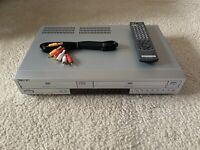 Sony DVD VCR Combo With Remote SLV-D370P 4 Head Hi-Fi Stereo VCR VHS Player